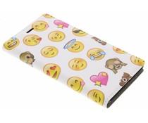 Emoji Design Booklet für Nokia 3