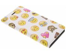 Emoji Design Booklet für Nokia 6