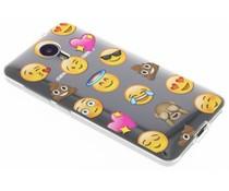 Emoji Design TPU Hülle für General Mobile 4G / GM5