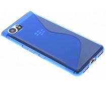 Blaue S-Line TPU Hülle für Blackberry Keyone