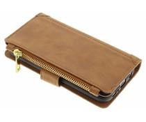 Braune Luxuriöse Portemonnaie-Hülle Samsung Galaxy Note 8