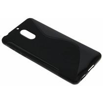 Schwarze S-Line TPU Hülle für Nokia 6
