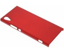 Rote unifarbene Hardcase-Hülle für Sony Xperia XA1