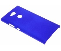 Blaue Unifarbene Hardcase-Hülle für Sony Xperia L2