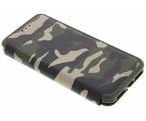 Grüne Army-Slim-Folienhülle iPhone Xs / X