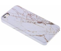White Marble Passion Hard Case iPhone 5 / 5s / SE