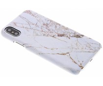 White Marble Passion Hard Case iPhone Xs / X