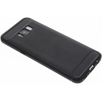 Schwarzer Brushed TPU Case Samsung Galaxy S8 Plus