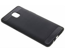 Schwarzer Brushed TPU Case OnePlus 3 / 3T