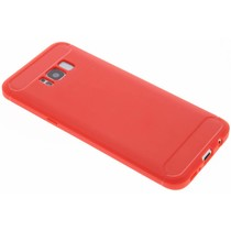 Roter Brushed TPU Case Samsung Galaxy S8 Plus