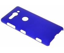 Blaue Unifarbene Hardcase-Hülle für Sony Xperia XZ2 Compact