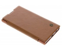 Nillkin Qin Leather Slim Booktype Hülle Braun für Sony Xperia XA2