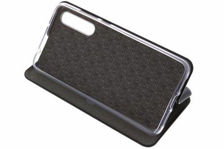 Huawei P20 Pro hülle - Schlankes Foliocase Schwarz Huawei