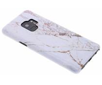 White Marble Passion Hard Case für das Samsung Galaxy S9