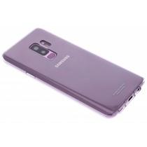 Samsung Transparentes Silikon Clear Cover für das Galaxy S9 Plus