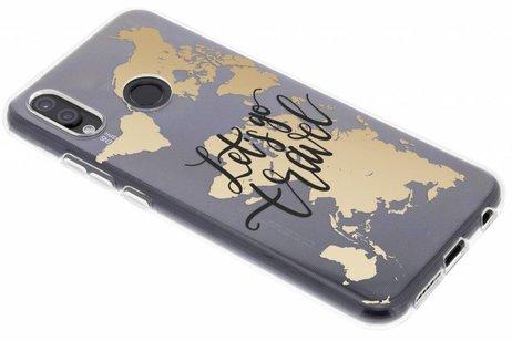 Huawei P20 Lite hülle - Let`s go travel Design