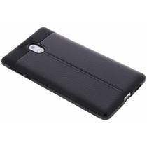 Leder Silikon-Case für Nokia 3