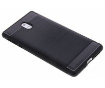 Schwarzer Brushed TPU Case Nokia 3