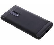 Schwarzer Brushed TPU Case Nokia 8