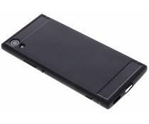 Schwarzer Brushed TPU Case für das Sony Xperia XA1