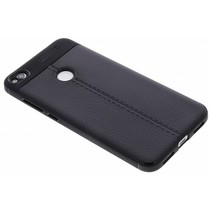Leder Silikon-Case für Huawei P8 Lite (2017)