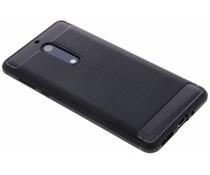 Schwarzer Brushed TPU Case für das Nokia 5