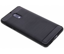 Schwarzer Brushed TPU Case für das Nokia 6