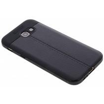 Schwarzes Leder Silikon-Case für das Galaxy A5 (2017)