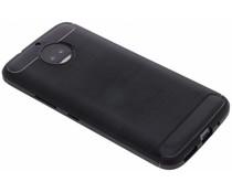 Schwarzer Brushed TPU Case für das Motorola Moto G5S Plus