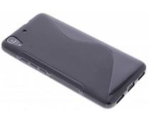 Schwarze S-Line TPU Hülle für Huawei Y6