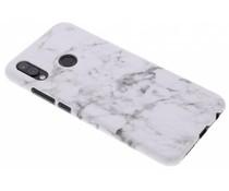 Marmor-Look Hardcase-Hülle Weiß für Huawei P20 Lite