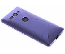 Violette S-Line TPU Hülle für Sony Xperia XZ2 Compact