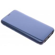 Samsung Blaues Clear View Standing Cover für das Galaxy S9