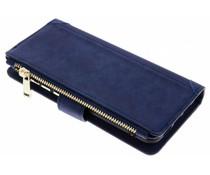 Blaue Luxuriöse Portemonnaie-Hülle für das Huawei P20