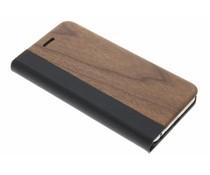Holz-Leder Booktype Hülle iPhone 6 / 6s