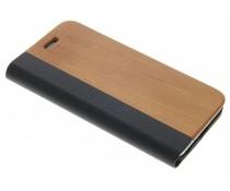 Holz-Leder Booktype Hülle iPhone 8 / 7