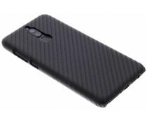 Carbon Look Hardcase-Hülle Schwarz für Huawei Mate 10 Lite