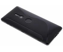 Schwarze S-Line TPU Hülle für Sony Xperia XZ2