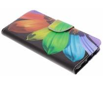 Design TPU Booktype Hülle für Huawei P20