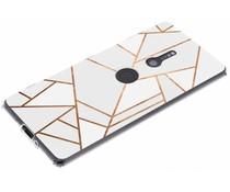 Design TPU Hülle für das Sony Xperia XZ2