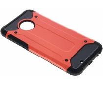 Rotes Rugged Xtreme Case für das Motorola Moto G6