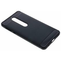 Schwarzer Brushed TPU Case Nokia 6.1
