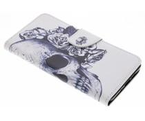Design TPU Booktype Hülle für Nokia 7 Plus