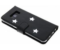 Fabienne Chapot Silver Reversed Star Booktype für das Samsung Galaxy S8