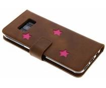 Fabienne Chapot Pink Reversed Star Booktype für das Samsung Galaxy S8