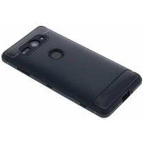 Dunkelblaues Brushed TPU Case Sony Xperia XZ2 Compact