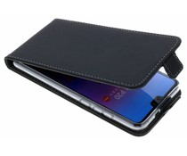 Accezz Schwarzer Flip Case für das Huawei P20