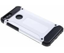 Silberfarbenes Rugged Xtreme Case Huawei P Smart