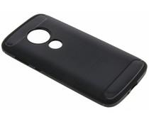 Schwarzer Brushed TPU Case Motorola Moto E5 Play