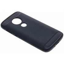 Dunkelblauer Brushed TPU Case Motorola Moto E5 Play